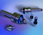 Image - Live Centers are Designed for Maximum Tool Clearance While Providing the Highest Rigidity to the Workpiece